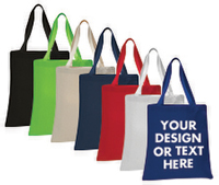 Q800 Heavy Canvas Tote Bag 1 Color Print