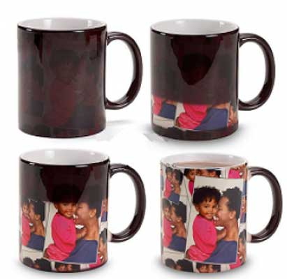 11oz Magic Mugs Changing Color Coffee Mugs