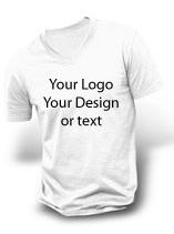 V-neck Men T-shirt Multi-Color Printing