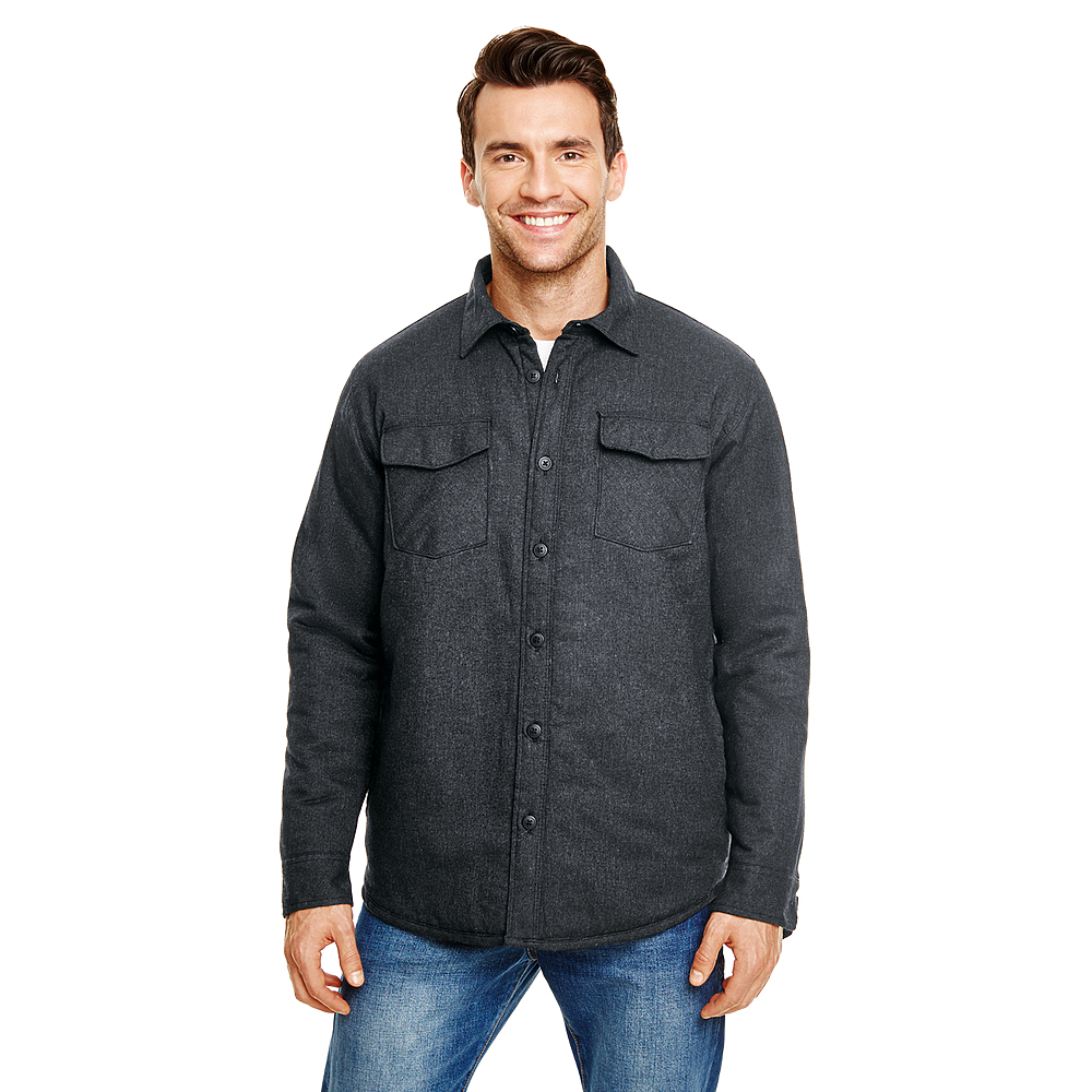 BR8610 MEN'S QUILTED FLANNEL JACKET