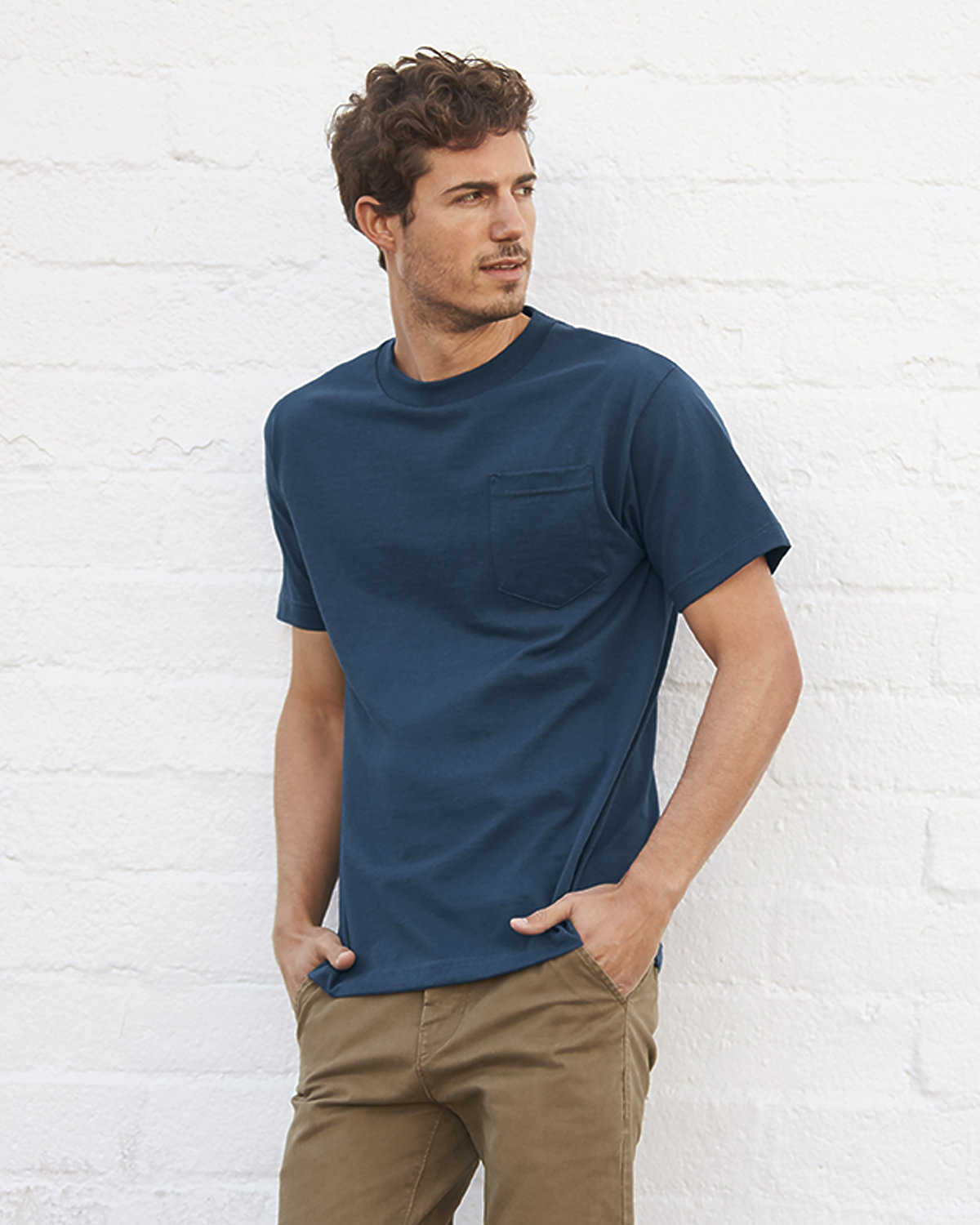 1305 Adult Tee with Pocket