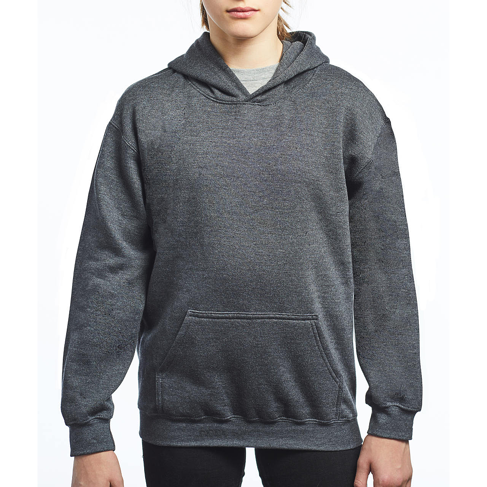 3320B YOUTH FLEECE PULLOVER HOODIE