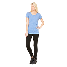 B8413 LADIES TRIBLEND S/S TEE
