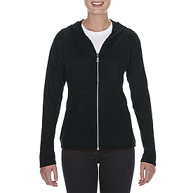 6759L TRIBLEND FULL ZIP HOODED JACKET