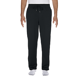 99400 PERFORMANCE ADULT TECH OPEN BOTTOM SWEATPANTS WITH POCKETS